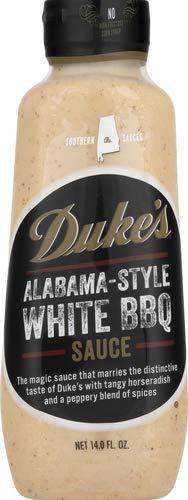 Alabama Style White Duke's Southern Dipping Sauce, 14 Oz