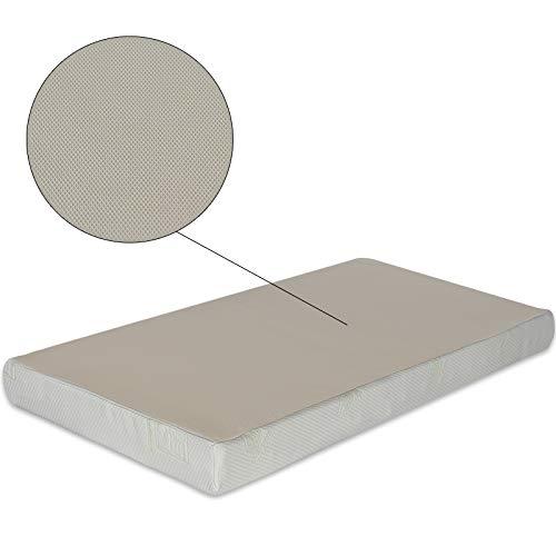 Ventadecolchones - Funda para Colchones con Cremallera en Tejido Stretch de 14 a 18 cm de Alto - 150 x 190 cm