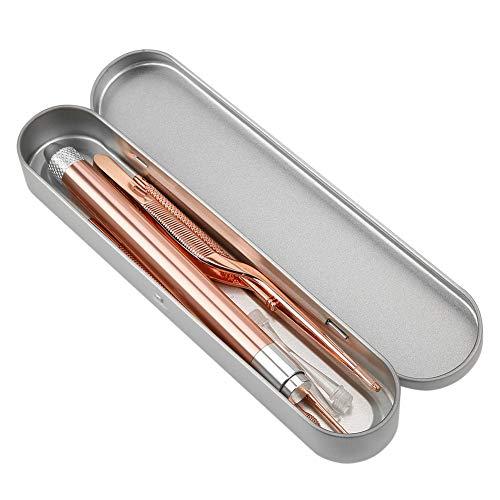 -Diseño antideslizante, limpiador de cera para oídos, diseño de linterna LED, orejera