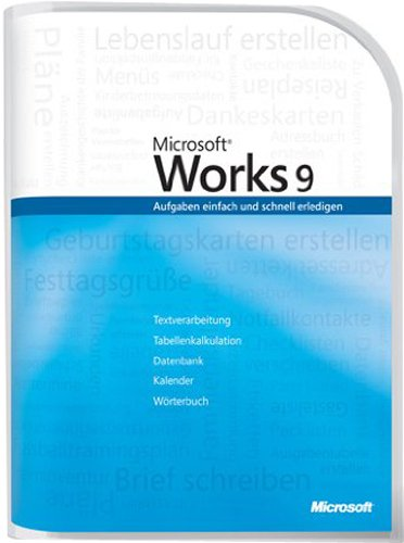 MS Works 9.0 [Import allemand]