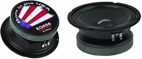 New Earthquake Sound PR-EQ6S8 6.5-inch 8-Ohm Cloth Surround Speakers - Sealed Basket, 200 Watts Max ...