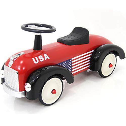 足けり 乗用カー スピードスター アルタバーグ スチール 乗用玩具 足けり車 乗り物 車のおもちゃ 乗物玩具 (アメリカン)