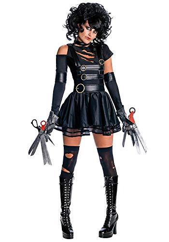 LaLaAreal Disfraz de Eduardo Manostijeras Mujer Cosplay Halloween Carnaval