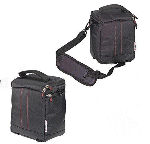 Navitech schwarz Schützender tragbarer Projektor Tragetasche und Reisetasche für die Optoma ML750e
