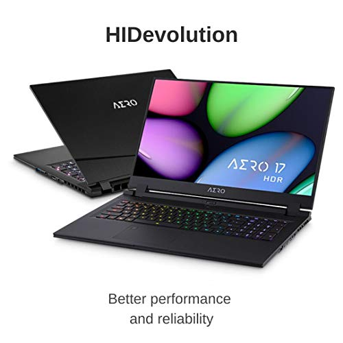 Learn More About HIDevolution Gigabyte AERO 17 HDR YB-9US4430SP 17.3 UHD HDR | 2.4 GHz i9-10980HK, ...