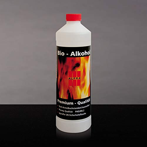 Bio Alkohol 6x 1 Liter im Karton Bioethanol Bio-Ethanol Premium Ethanol Alkohol Alfra Alfratol