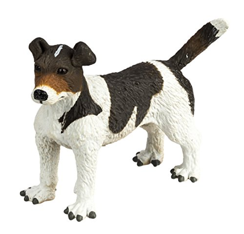 Safari Ltd. Best in Show Collection - Jack Russell Terrier Figuring Non-toxic and BPA Free