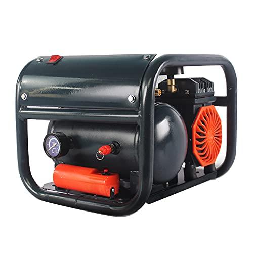 Compresor de Aire Bomba de Aire portátil sin Aceite 850/1500 W Tipo de Estructura Compresor de Aire 6L Silencioso (60dB) Renovación del hogar Pintura en Aerosol Compresor de inflado de neumáticos