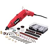 Hi-Spec 135W Mehrzweck-Rotations-Kombi-Tool & 104-teiliges gemischtes Zubehör-Set. Kompatibel mit Dremel Zubehör