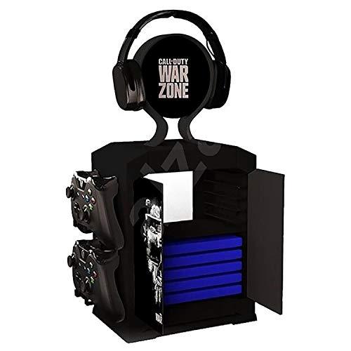 Rubber Road Aufbewahrungsbox Call of Duty Warzone PS4 PS5 / Xbox One und Serie – Halterung für Kopfhörer und Controller
