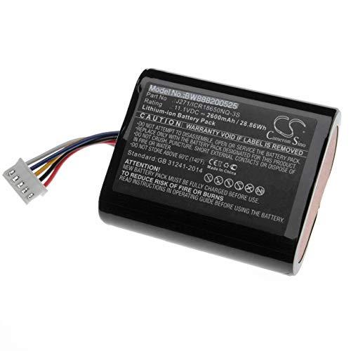 vhbw batería Compatible con Bowers & Wilkins T7 Altavoz Altavoces (2600mAh, 11.1V, Li-Ion)
