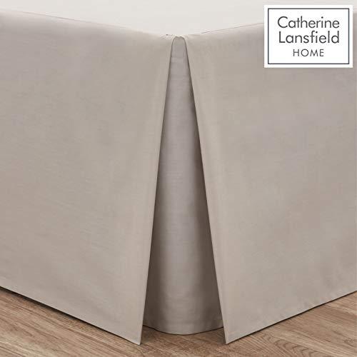 Catherine Lansfield Valance - Faldón para cama (150 x 220
