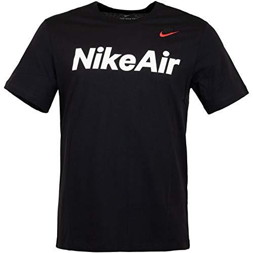 Nike Air - Camiseta negro/rojo XXL