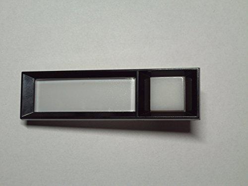 Klingel-Licht-Kombitaster Seko passend für Renz 97-9-85089 mit integr.Namenschild
