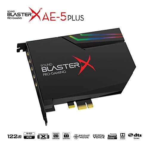 クリエイティブ・メディアSoundBlasterXAE-5PlusDolbyDigitalLive/DTSConnectSBX-AE5P-BK