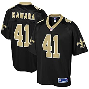 NFL PRO LINE Men's Alvin Kamara Black New Orleans Saints Team Player Jersey