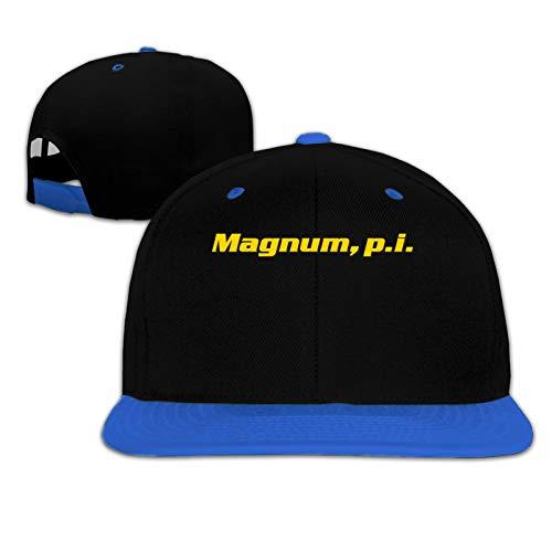 Magnum, P.I Casual Kids Fashion Hip-Hop Baseball Cap Blue