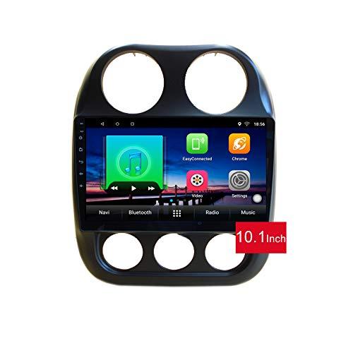 Lettore multimediale DVD per auto Android 10.0 GPS per Jeep Compass MK 2009 2011 2012 2014 2015 navigazione stereo per autoradio