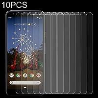 強化ガラスフィルム Googleのピクセル3Aのための10 PCS 0.26mm 9H 2.5Dの緩和されたガラスフィルム 携帯電話