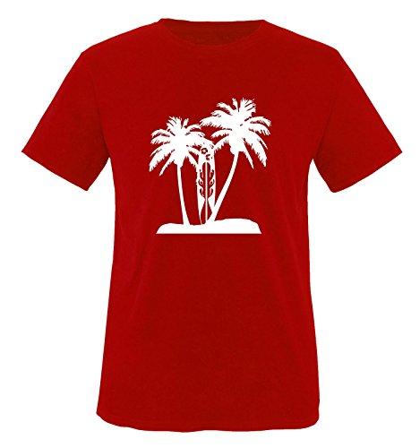 Funshirts-Company Palmiers t-Shirt de Surf pour Enfant Taille de 86 à 164 Plusieurs Couleurs