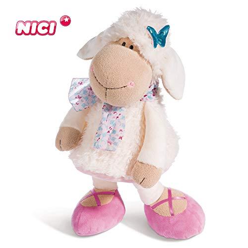 Nici Plüschtier Schaf Jolly Journey 45 cm – Schaf Kuscheltier für Mädchen, Jungen & Babys – Flauschiges Stofftier zum Kuscheln, Spielen und Schlafen – Schmusetier für Kuscheltierliebhaber – 44271