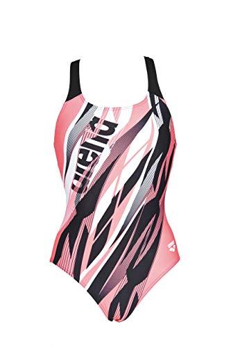 arena W Swim Pro One Piece L Sport Badeanzug Damen Zephiro M Schwarz / Glanz-Pink
