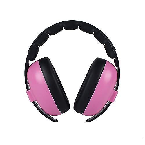 Orejeras de Protección Protección auditiva para bebés Protección auditiva con cancelación de ruido Auriculares para bebés Disparos Protección auditiva Orejeras de seguridad Orejeras con banda de sujec