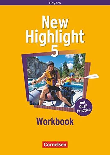 New Highlight - Bayern - Band 5: 9. Jahrgangsstufe: Workbook