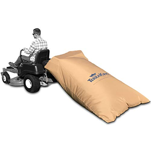 TerraKing Leaf Bag XL- Material collection systems – Ride-On Lawnmowers - Heavy Duty Material – Nylon Bottom - Fast & Easy Leaf Collection (Fits 3-Bag Hood) [ST95033]