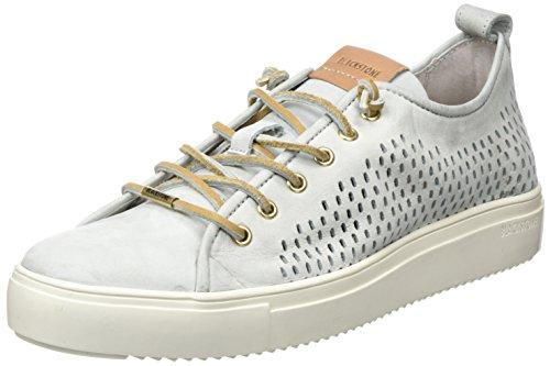 Blackstone Damen PL87 Sneaker, Grau (Limestone), 41 EU