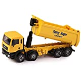 Llpeng 01:50 Scala Bambini Dump Toy Car Lega del Metallo del Camion 8 Ruota Modello Veicolo Diecast Giocattoli dell'automobile for i Bambini più Piccoli di Compleanno for Feste Educational Toy Car