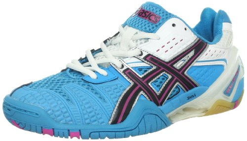 ASICS Women's GEL-Blast 5 Shoe,Ocean Blue/Black/White,10 M US