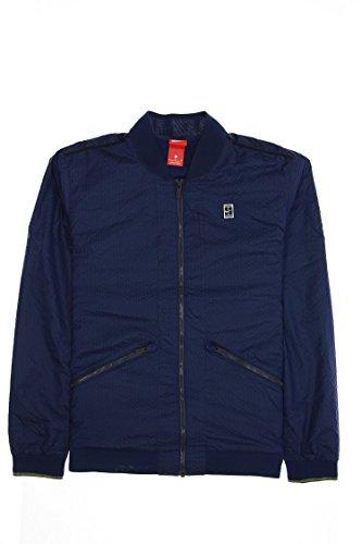 Nike Court Men's Bomber Jacket (Medium, Binary Blue)