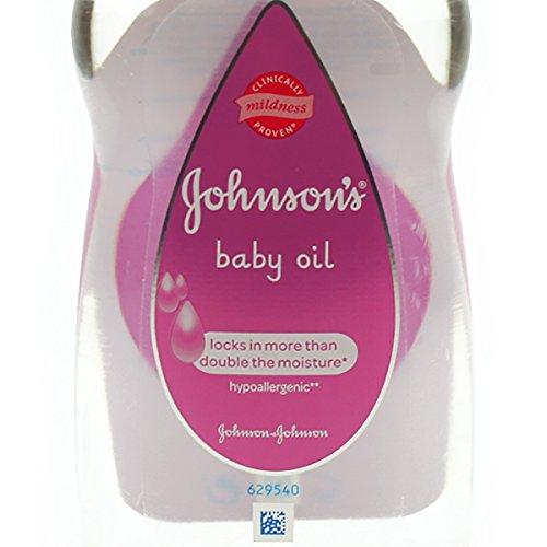 Johnson's Baby Oil, 300ml