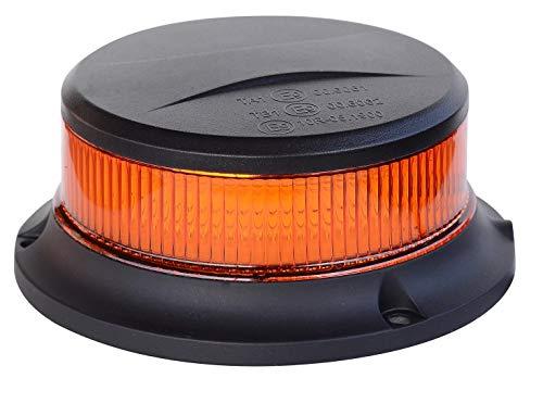 Gyrophare 816012 LED avec base magnétique Orange 18 LED X1 W R65