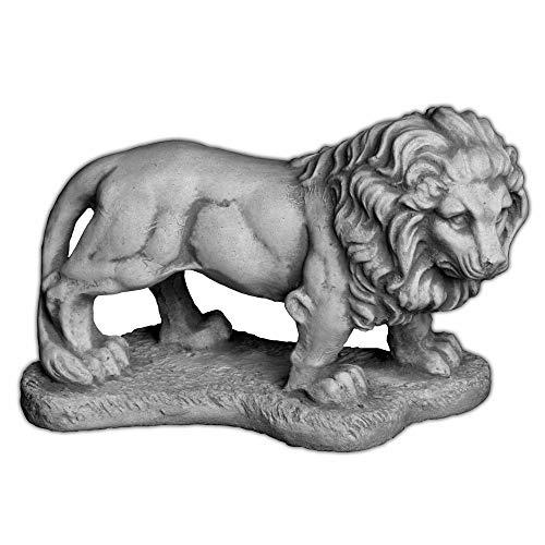 Gartendeko Kleiner Stein - Löwe liegend Torwächter Gartendeko oder Zuhause aus Steinguss frostfest