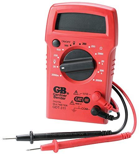 Ecm Industries GDT-311 3-Function Digital Multimeter - Quantity 4