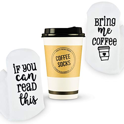 Luxury Coffee Socks with Paper Coffee Cup Gift Packaging