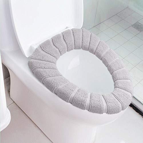 Wc-bril universeel zacht verwarmd wasbaar toiletbril mat set voor huisdecoratie kast mat stoel case warmer wc deksel accessoires