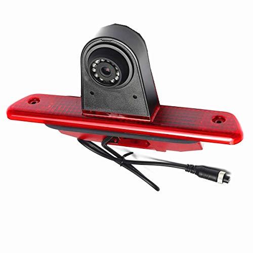 Caméras de recul Troisième feu Stop en Remplacement de la Lampe d'arrêt pour Brake Light Rear View Backup Camera for Peugeot Expert, Citroen Dispatch, Toyota Proace van