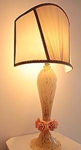 Lámpara de cristal de Murano hecha a mano en Italia/Lamp de Murano Glass hecho a mano en Murano Glass