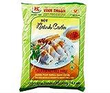 Vinh Thuan Rollo de arroz al vapor Mix Harina 400g - Vinh Thuan Flour se hace con una mezcla de harina de arroz y almidón de tapioca, y se puede utilizar para hacer papel de arroz húmedo.