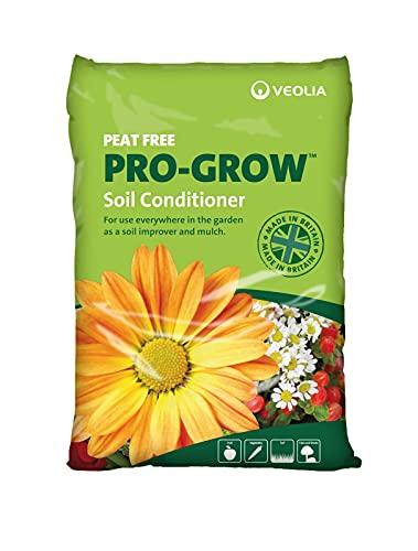 Pro-Grow 100% British Peat Free Soil Conditioner 30L Bag - Use...