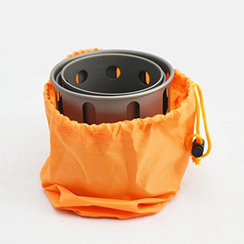 Product Image 1: TOAKS Titanium Backpacking Wood Burning Stove