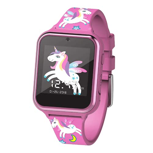 Accutime Watch Girls' Digital Watch with Silicone Strap, Pink, 20 (Model: LMT30036AZ)