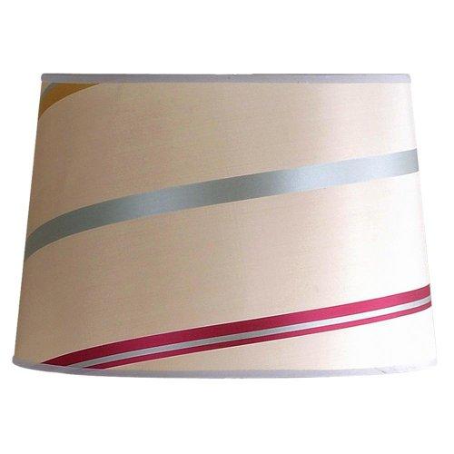 Laura Ashley slb24114Juliette para lámpara (35,6cm), diseño de rayas