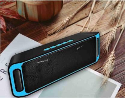SBA MEGA - SP - A012 Bluetooth Speaker | Wireless Mini Speaker | Portable BT Speaker with TF/USB/AUX Audio Port Compatible with All Smartphones