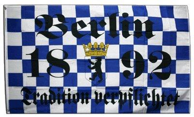 Flagge Fanflagge Berlin 1892 Tradition verpflichtet - 90 x 150 cm