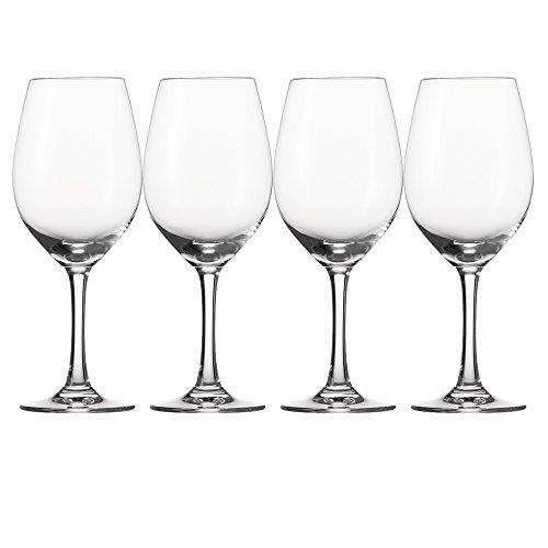 Spiegelau & Nachtmann, 4-teiliges Universal-Weinglas-Set, Kristallglas, 400 ml, Festival, 4020276