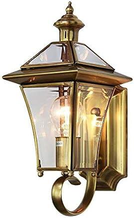 Amazon.es: lamparas de laton - Apliques de exterior ...